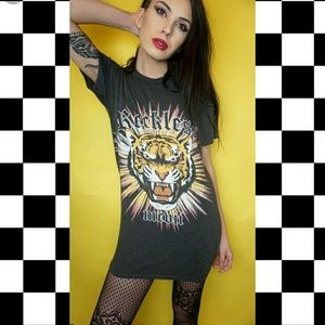 Missguided Reckless T shirt dress